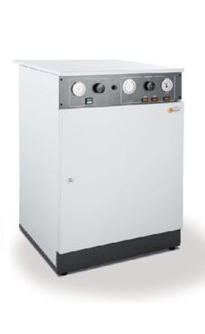 DCS 10/15 con acumulador de 80 litros de 15 Kw. de 12.900 Kcal/h. (Trifásica) se puede ajustar a monofásica. (caldera eléctrica )