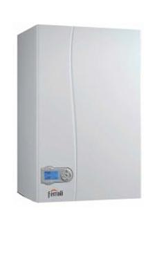 FERROLI ECONCEPT ST 35 N de 36,7 KW con kit de salida de gases para reposición con acumulación (caldera para gas natural mural estanca mixta condensación)