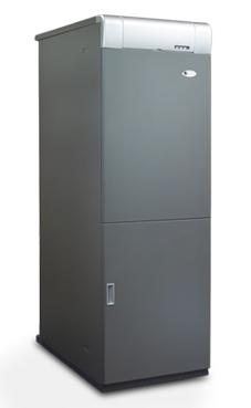 DOMUSA MCF-40 HDXV grupo térmico de fundición con acumulador inox. de 38,5 Kw., acumulador de 130 litros. (caldera para gasóleo estanca)
