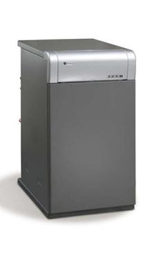 DOMUSA CLIMA PLUS HFD 30  de pie de hierro fundido de 27,8 Kw mixta instantanea (caldera para gasóleo atmosférica)