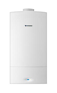 JUNKERS CERAPUR ZWBC 25-2C  con microacumulación sistema quickTap de 25 KW con placa de conexiones y ventosa (caldera para gas natural mural estanca mixta condensación)
