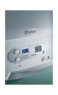 VAILLANT TURBO TEC PLUS de 28/32 KW  (VMW ES 28/322/4-5) con plantilla y kit evac. (caldera para gas natural mural estanca mixta)