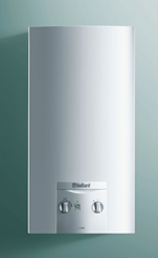 VAILLANT Turbomag ES 17-2/0 E con kit de evacuación. (calentador gas natural estanco)