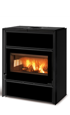 NORDICA-EXTRAFLAME FLY IDRO D.S.A. 15,4 Kw negro-crystal