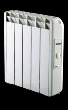 ALEJANDRIA AN-11, radiador de bajo consumo de 1040,6 Kcal/h, con termostato analógico (radiador de bajo consumo )